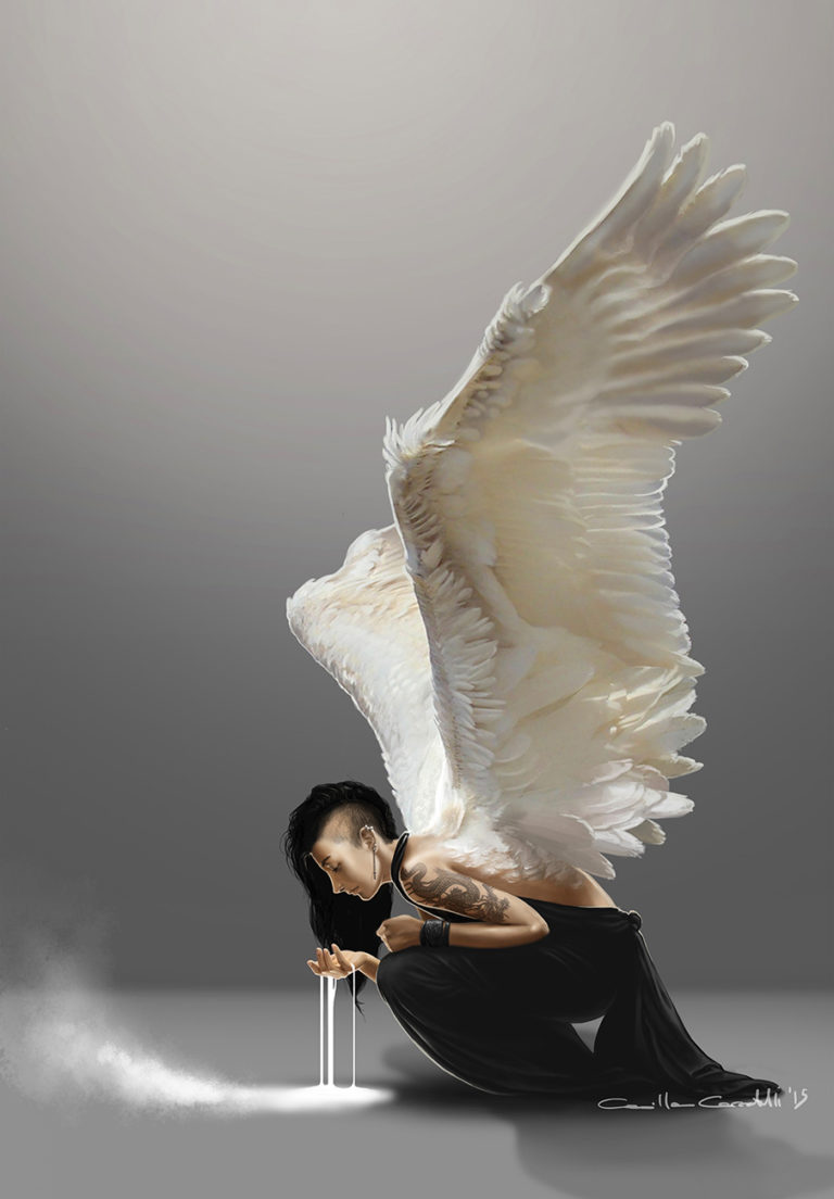 Digital art Dark Angel