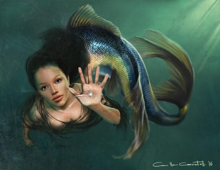 Digital art Fantasy Mermaid