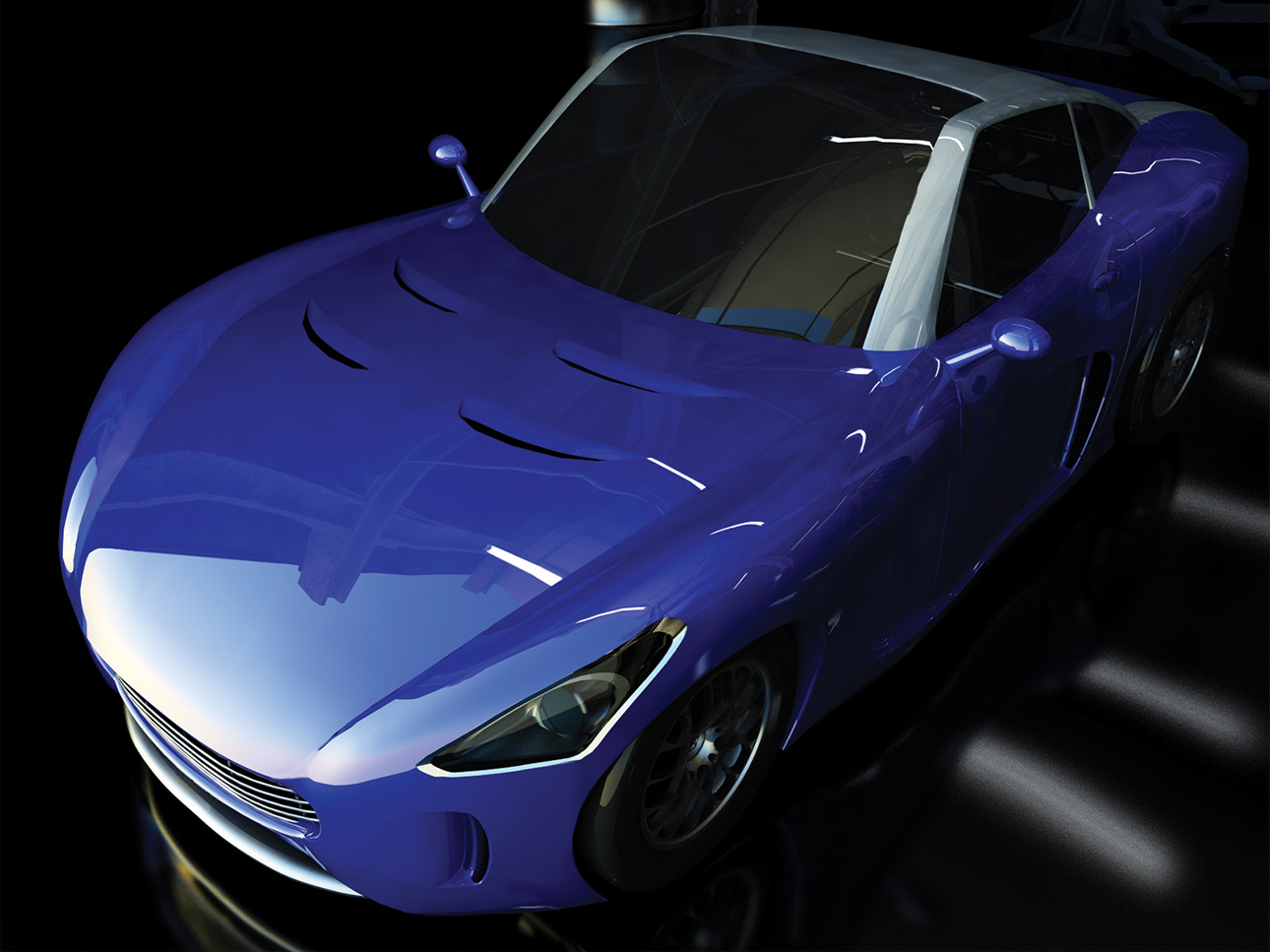 Automotive design progettazione auto da corsa Ermini GT