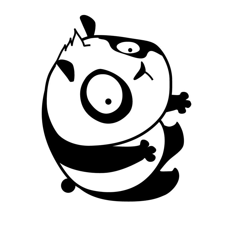 Game Art, Digital Art, Graphic design dell'App Black White Life Brain Sharp Panda Puzzle