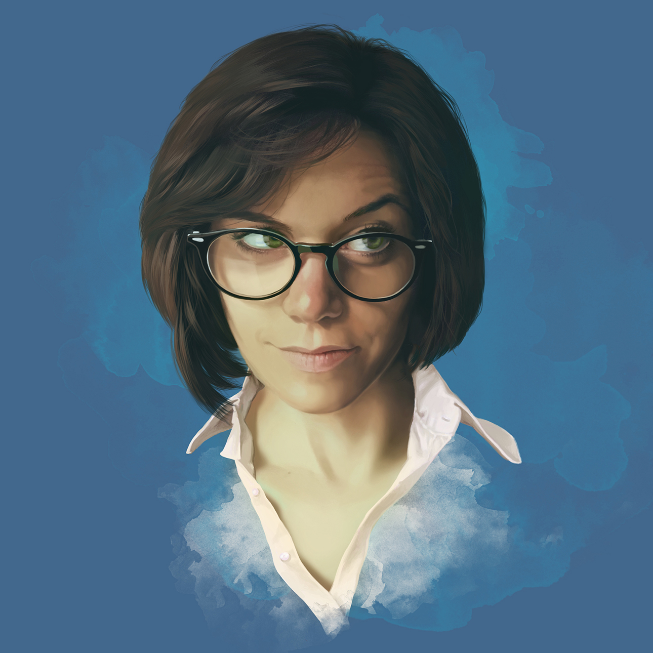 Digital art Self-portrait | Autoritratto