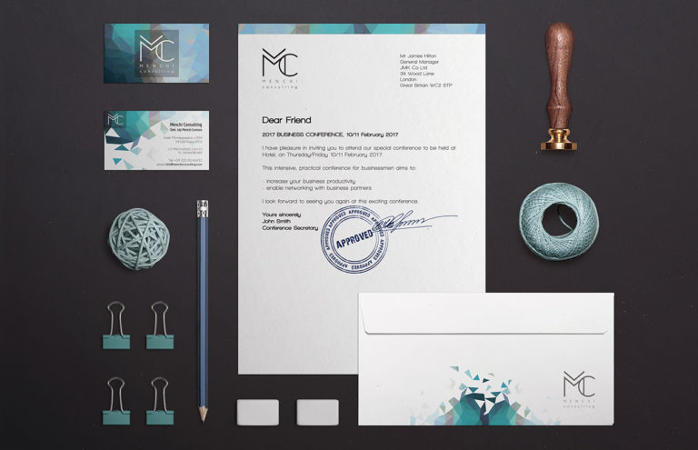 Brand image Menchi Consulting