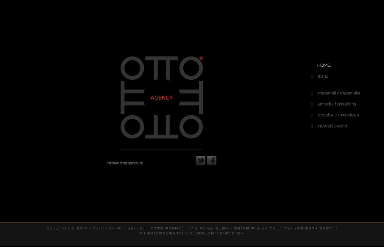 Web design e web develop Otto Agency - progettazione e sviluppo di un sito web a layout statico