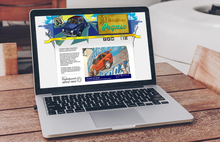 Web design Autofficina Pegaso