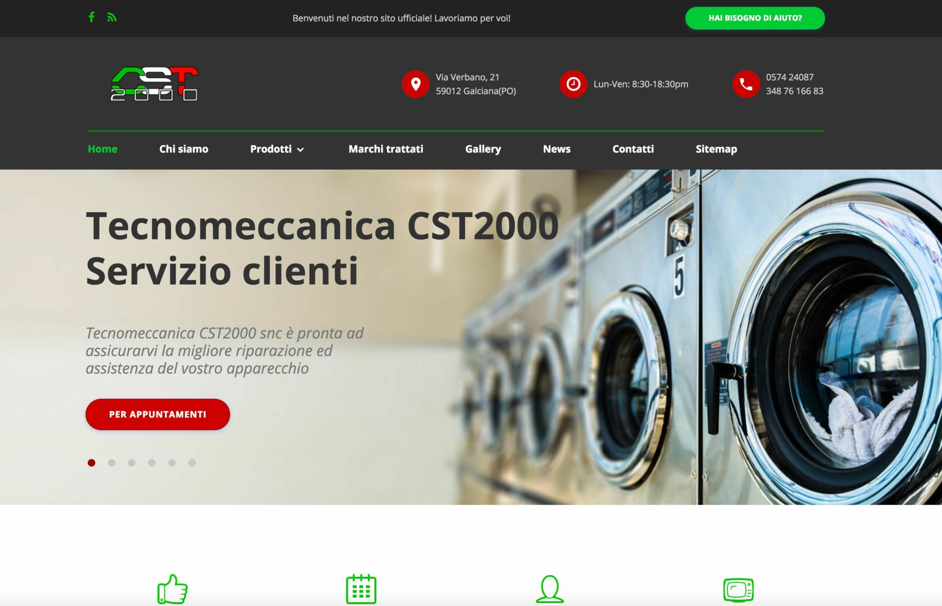 Web design e web develop tecnomeccanica CST2000 - progettazione e sviluppo di un sito web a layout responsive