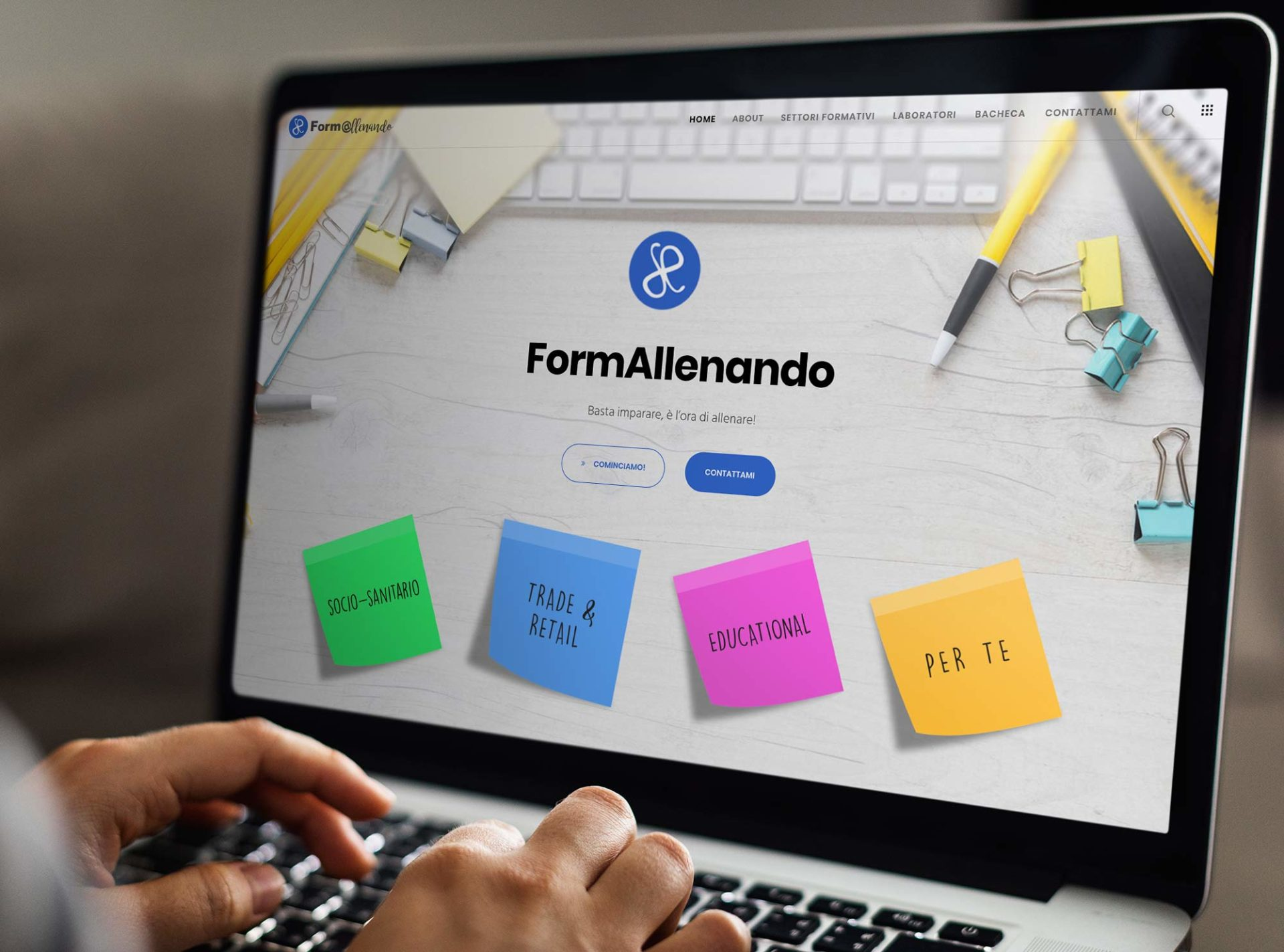 Web design e web develop Formallenando.com