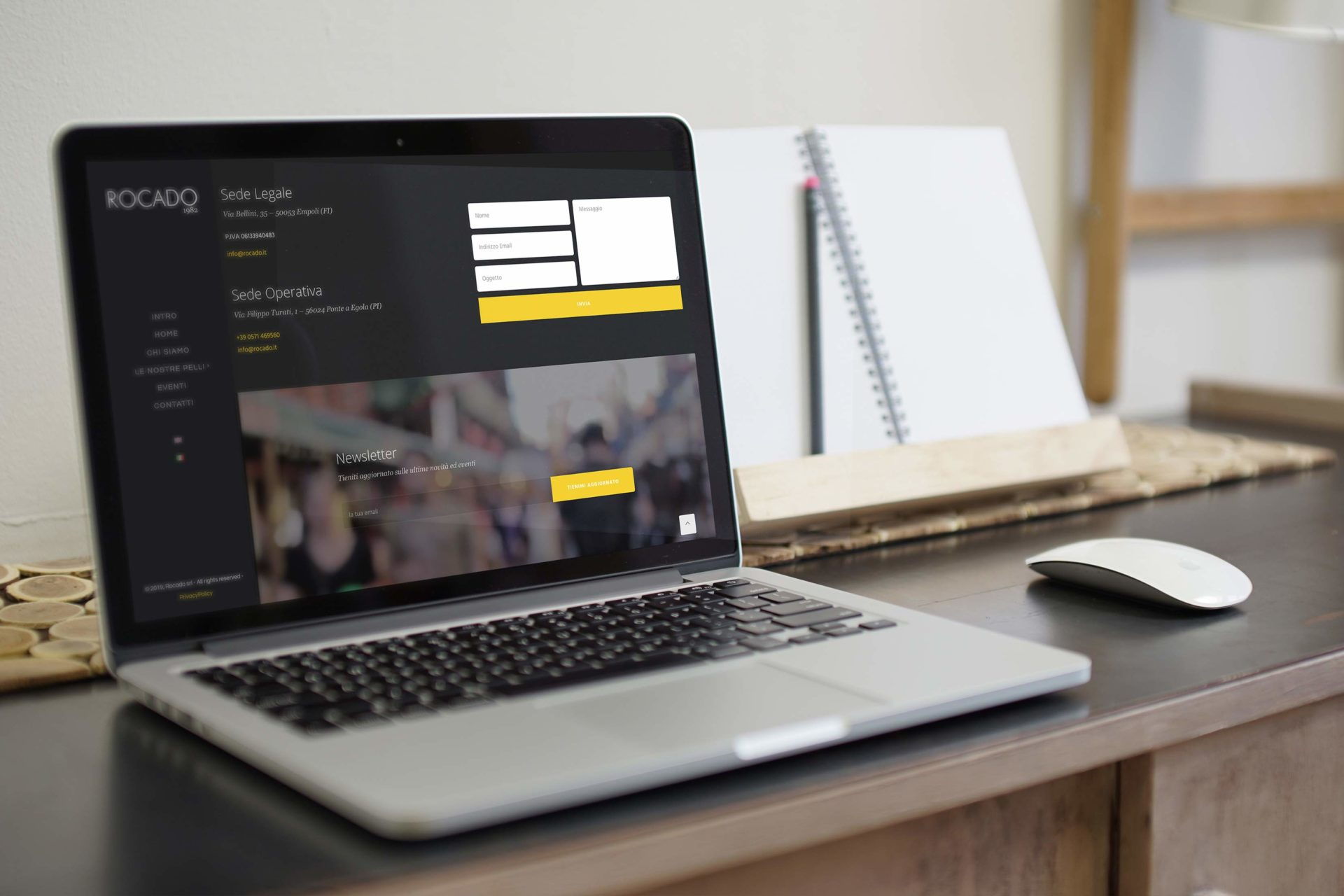 Web design e web develop Rocado.it contatti