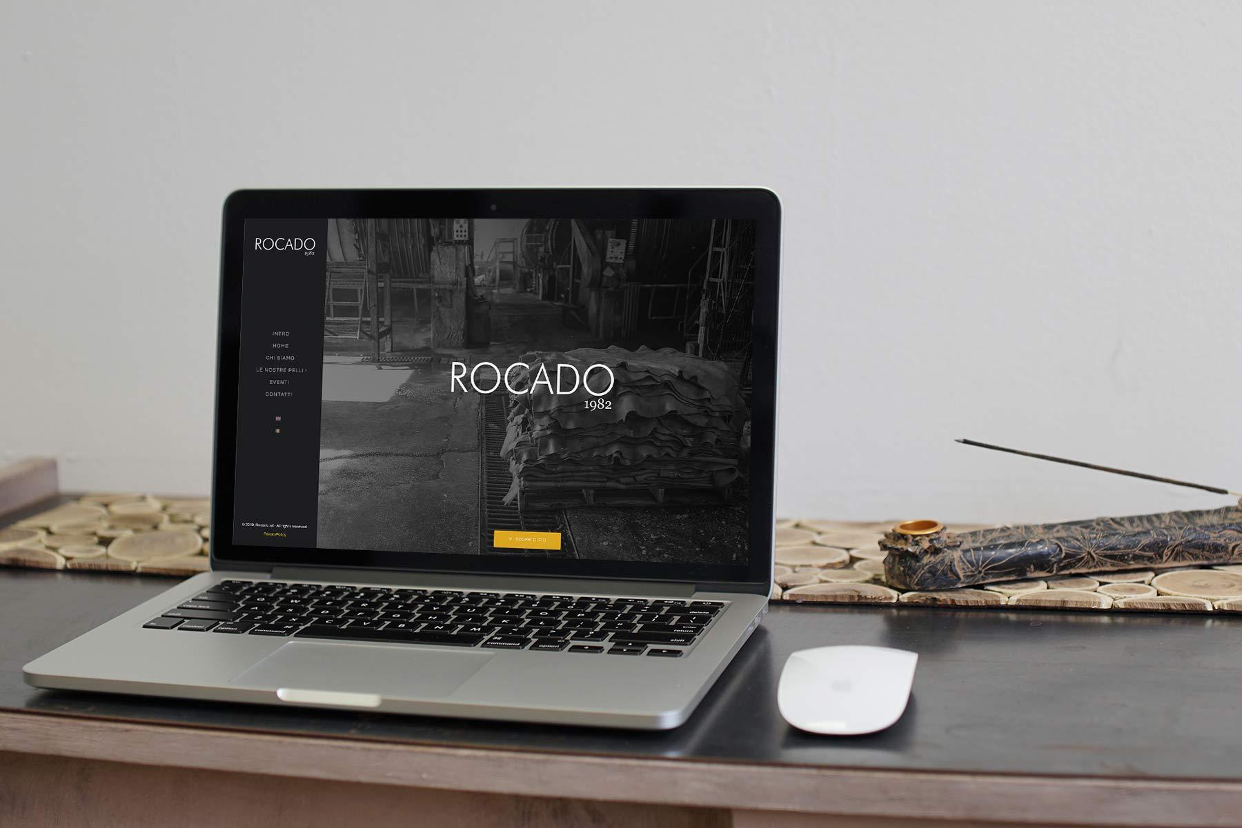 Web design e web develop Rocado.it home