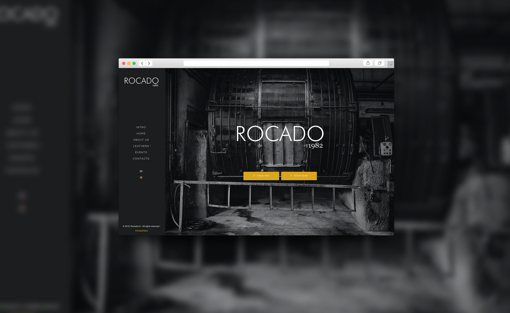 Web design Rocado.it
